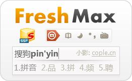 搜狗拼音输入法皮肤 - Fresh Max