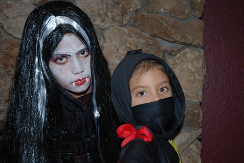 Vampiress and Black Ninja