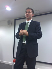 Jeremy Hunt, shadow culture minister, at the LSE
