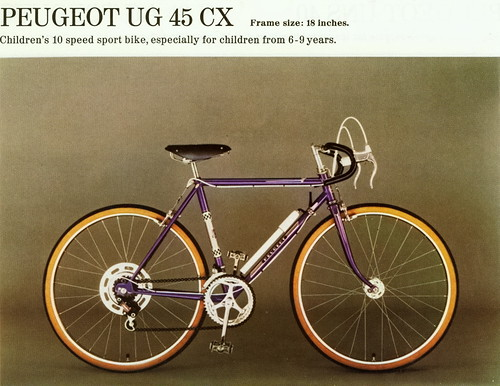 Juvenile racing bike   2   Peugeot (France)