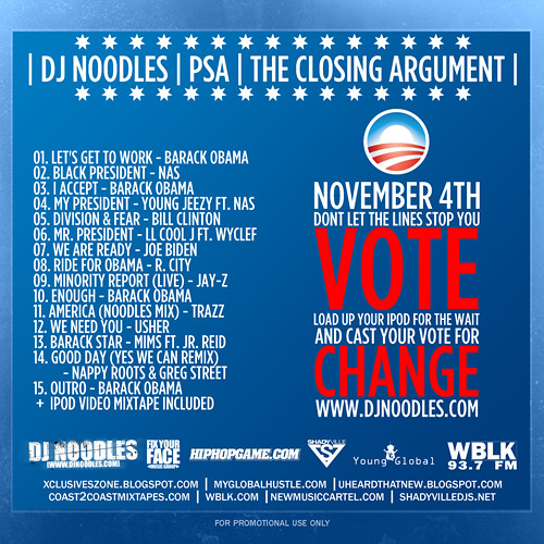 DJNoodles-PSA-VoteForChange-Cover-2-500 by you.