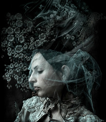 My mothers widow....... (Kirsty Mitchell) Tags: girl self vintage storybook makeawish aod ixtlan foradrian kirstymitchell andnowalittlemakebelieve