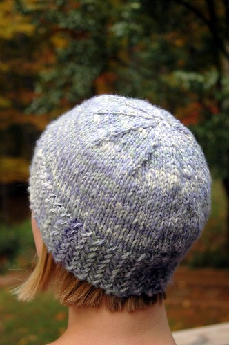 Handspun hat for Karen