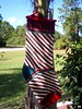 Ribbon Candy Stocking