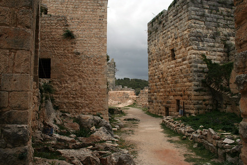Between Saladin's Walls