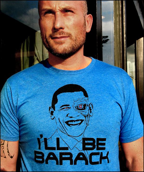 'I'll Be Barack' T-Shirt