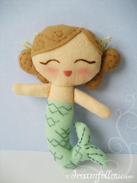 mermaid Lolly Dolly