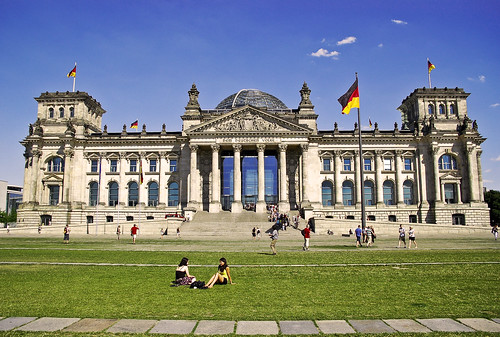 Reichstag  Berlin Germany by borevagen.