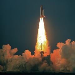 Shuttle Endeavour Blastoff