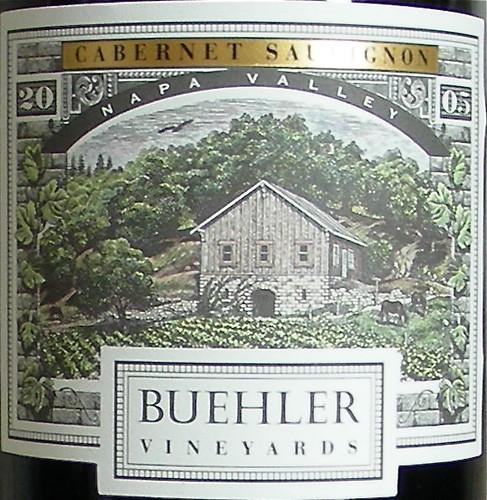 2005 Buehler Cabernet