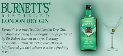 burnetts gin