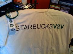 Carepackage from Starbucks V2V