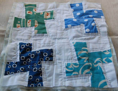 One Quilt - in progress