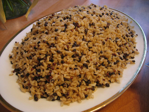 Wild Rice with Shallots