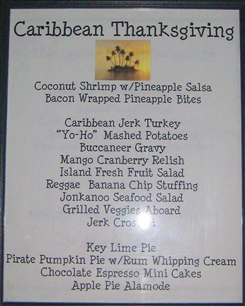 Caribbean Thanksgiving Menu, MyLastBite.com