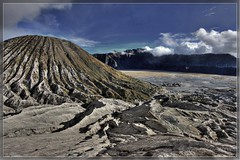 View of Batok from the top of Bromo