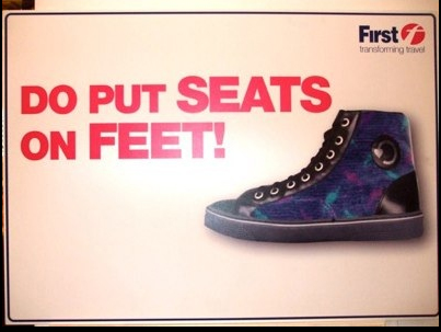 Put Seats on feet