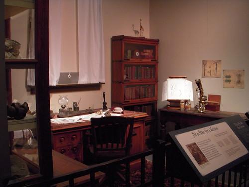 Joseph Leidy's office