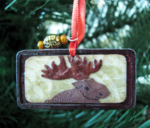 Moose Ornament - Custom Order