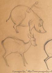 LA Zoo Sketch