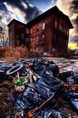 Pile O' Garbage (Scallop Holden) Tags: new york urban ny abandoned buffalo rust decay explore explorers exploration urbex