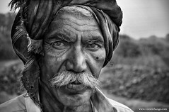 A Farmers Portrait (bnilesh) Tags: portrait asian indian farmer anawesomeshot