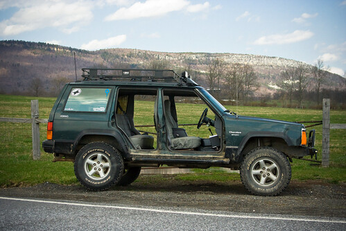 ... put the doors back on when its cold. lol. my doors close like they werent even modified. and they go on and off very easily IMHO. plus it looks badass. & Taking the doors off Jeep Pezcame.Com