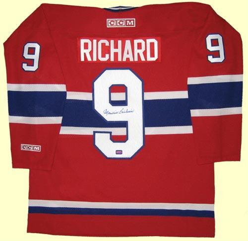 ddecc97b01f ... a Richard Montreal Canadiens jersey) .