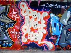 (elhalo) Tags: graffiti udon taiwan noe chek saph sayme