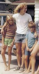 Michael, Janis & Tom 1974