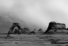 today on (chuchi carmelo) Tags: bw utah archesnationalpark delicatearch thebeehivestate