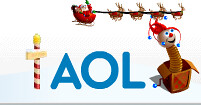 AOL Holiday Logo