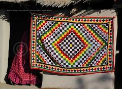 Culture: Rilli and Thari woman (Ameer Hamza) Tags: red classic wow wonderful pattern patterns blogger designs charming ethnic charms wanderer redshirt ppo ppc dwelling rali ralli kpc toogood hinduwoman rilli pakistaniwomen gharara ameerhamza pakistanivillage adhia handmadedesigns redlehenga pakistaniblogger sindhidesign thariculture tharidesigns sindhiwoman naukotfort naukotvillage