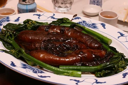 Sea Cucumber with Scallion