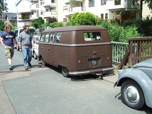 Vw Transporter Kombi. Vw Transporter kombi brown