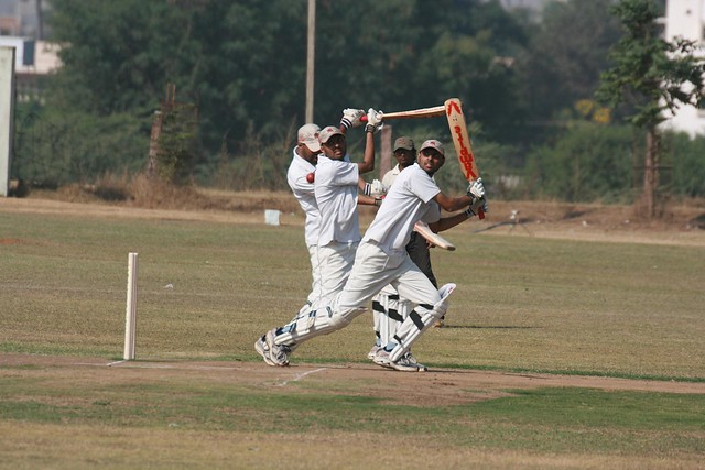 Bala batting action