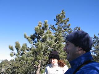 Colin and Elena at the Pinnacle
