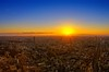 Tokyo, Japan (/\ltus) Tags: sunset japan tokyo pentax moribuilding roppongihills 富士山 hdr mtfuji 5xp 日の入 japanhdr k20d 200812 lastsunsetof2008