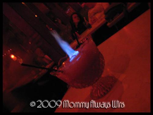flaming mo