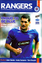 Rangers v Motherwell 20061028 (tcbuzz) Tags: cup scotland football glasgow scottish 2006 06 rangers uefa 07 2007 programmes