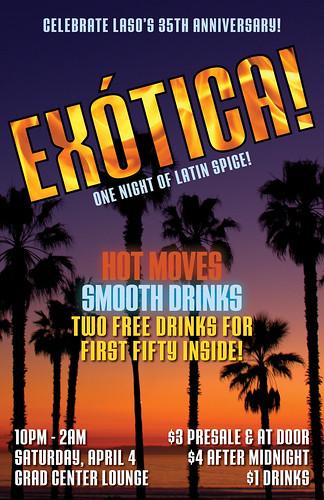 ¡Exótica! - 11x17