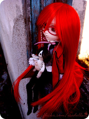 Scarlet - pullip grell (iCE DOLLS ) Tags: scarlet doll pullip grell kuroshitsuji