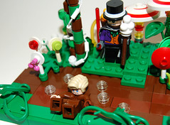 Augustus Gloop (Craig 'Lego' Lyons) Tags: river factory lego chocolate sweets wonka willy loompa oompa gloop