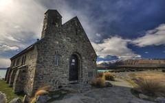 Church of the Good Shepherd (troyarkley) Tags: church hdr tekapo 10mm goodshepherd 40d