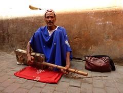 Musician in Marrakesh (Frans.Sellies) Tags: morocco maroc marrakech marrakesh marokko مراكش المملكةالمغربية المغرب