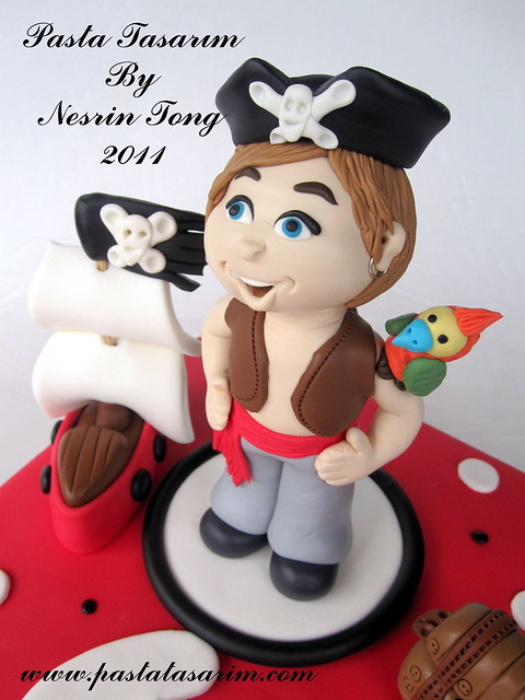 LITTLE PIRATES CAKE - ALPEREN BIRTHDAY