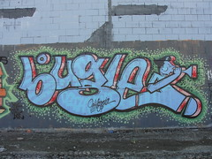 BUGLE (Lurk Daily) Tags: graffiti oakland bay east bugle