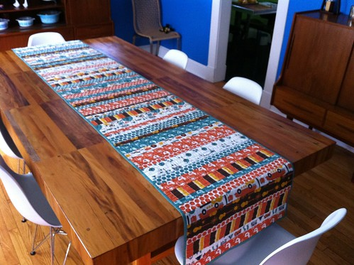 Runner Finished - On Table