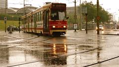 Rainy Day (Akbar Sim) Tags: holland netherlands rain station nederland tram denhaag streetcar trams thehague regen rt9 htm hollandspoor traim 3048 lijn9 akbarsimonse akbarsim
