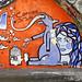 Street Art In Belfast (Near Central Railway Station)